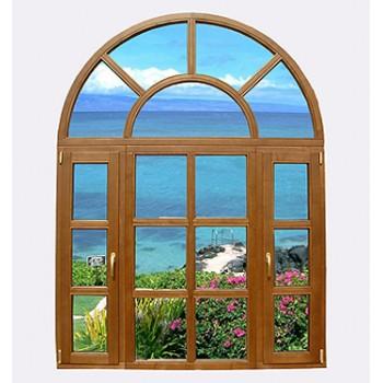 普维 意式纯木门窗