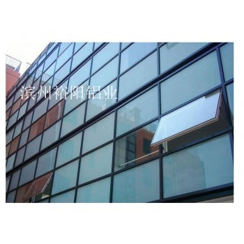 裕阳铝业 隐框玻璃幕墙 采光防辐射 美观大方 滨州裕阳铝业
