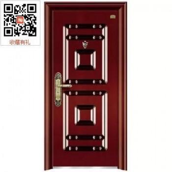 先锋9公分丁级钢质防盗门进户门家用安全门入户门工程门家用防盗安全门